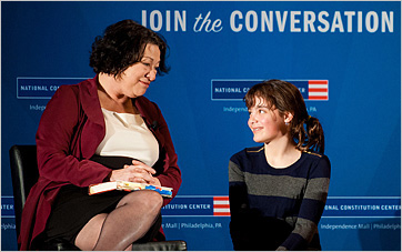 Sotomayor at National Constitution Center